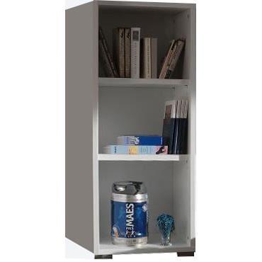 meuble tag re pour bureau coloris blanc achat vente. Black Bedroom Furniture Sets. Home Design Ideas