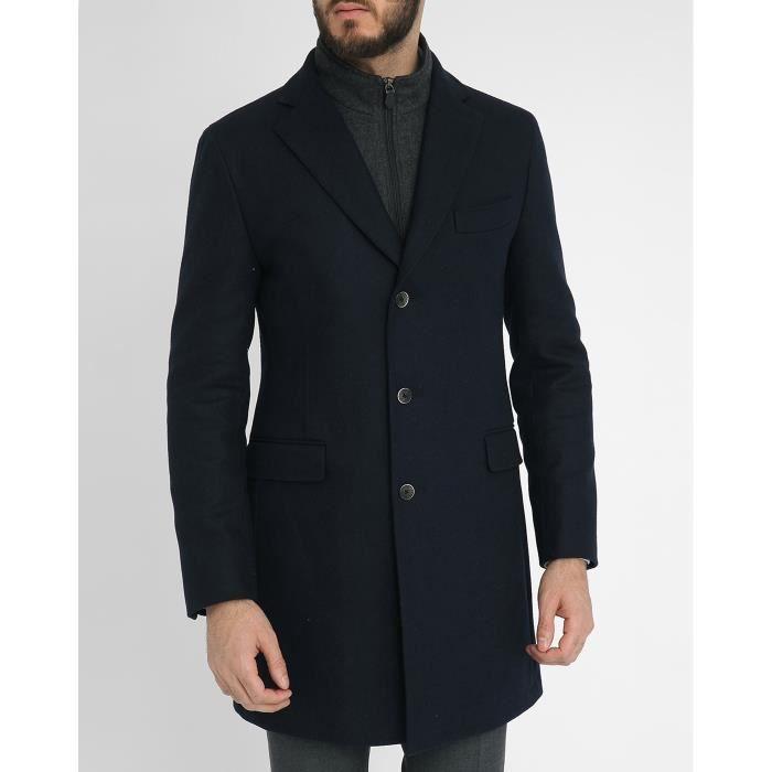 manteau doublure matelass e marceau pour homme bleu. Black Bedroom Furniture Sets. Home Design Ideas