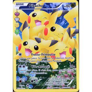 Pokemon carte pikachu achat vente jeux et jouets pas chers - Carte pokemon imprimer ...
