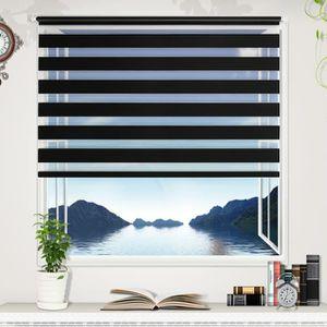 strore enrouleur jour nuit noir achat vente strore enrouleur jour nuit noir pas cher. Black Bedroom Furniture Sets. Home Design Ideas