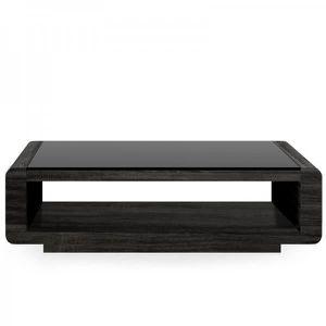 Table bois verre achat vente table bois verre pas cher for Table basse bois et noir