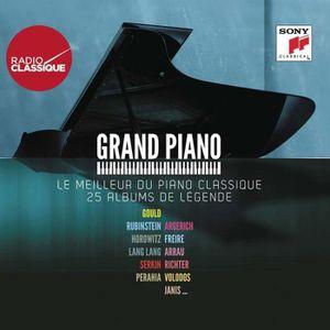 CD MUSIQUE CLASSIQUE Grand piano : Le meilleur du piano classique en 25