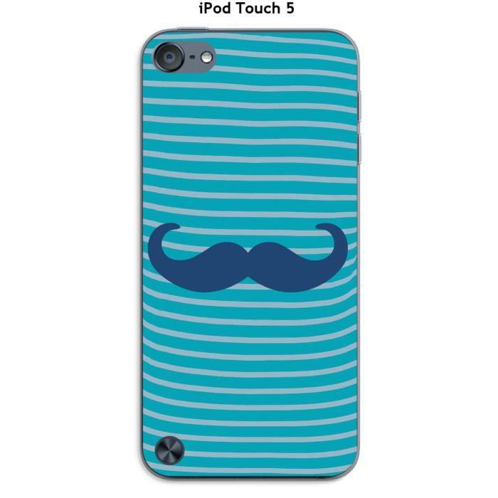 coque apple ipod touch 5 marini re moustache 2 classic blue coque mp3 mp4 avis et prix pas. Black Bedroom Furniture Sets. Home Design Ideas