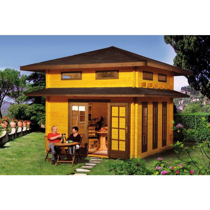 Abri de jardin en bois hortense 14 44 m achat vente abri jardin chalet - Vente abris de jardin ...