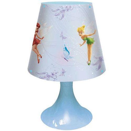Lampe de chevet f e clochette achat vente lampe pvc cdiscount - Lampe de chevet ampoule ...