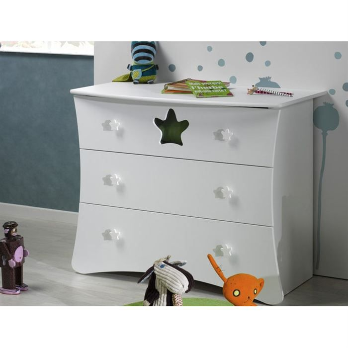 Sofamo commode king blanc achat vente commode b b 3700429520826 cdiscount - Plan a langer adaptable commode ...