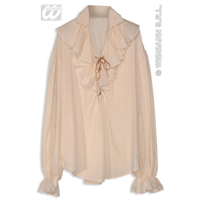 Chemise pirate renaissance femme beige (standard Taille unique