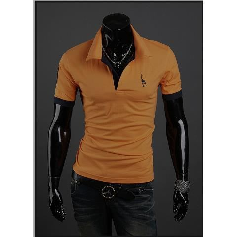 Homme t shirt polo chemise costume homme polo c achat vente polo cdiscount - Chemise costume homme ...