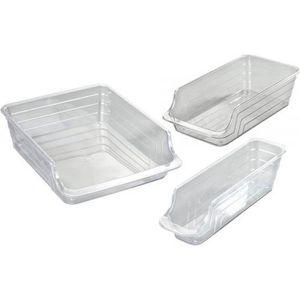boite de rangement frigo achat vente boite de rangement frigo pas cher soldes cdiscount. Black Bedroom Furniture Sets. Home Design Ideas