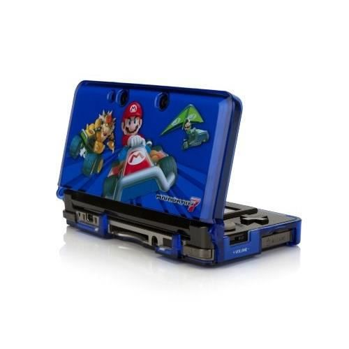 Coque de protection crystal armor mario kart 7 3ds achat for Housse 2ds mario