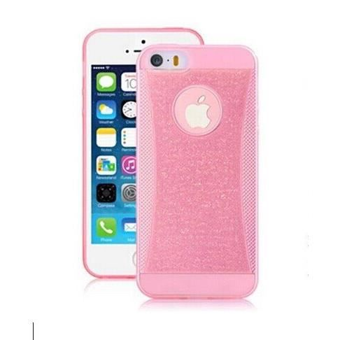 Coque housse silicone luxe iphone 6 rose achat for Housse iphone 6 luxe