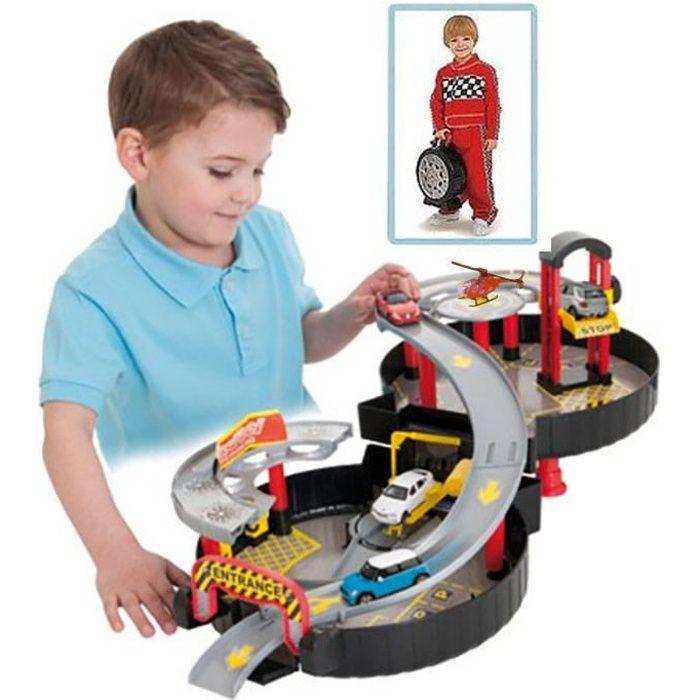 Kidskraft Train Table Circuit de Voitures Garage - Facilement transportable - Forme Roue ...