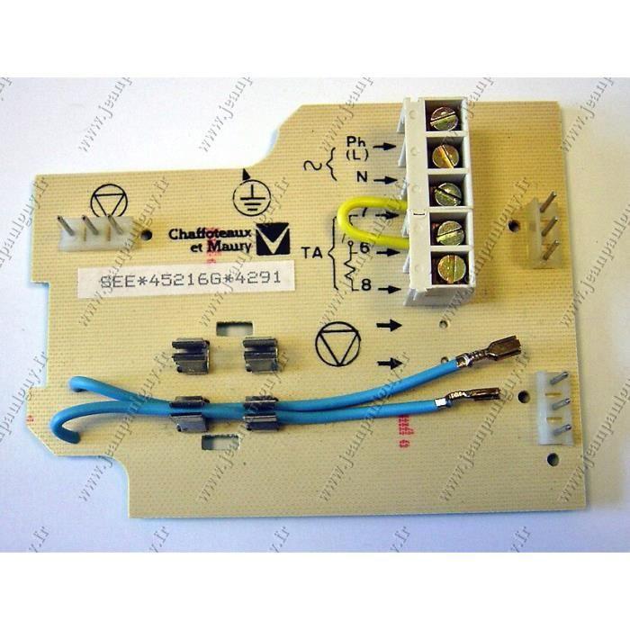 circuit imprime chaffoteaux pour chaudiere celtic achat vente pi 232 ce chauffage clim circuit