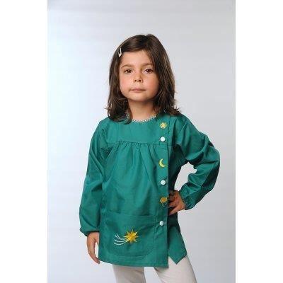 tablier ecole arc en ciel vert achat vente chemisier blouse tablier ecole arc en ciel v. Black Bedroom Furniture Sets. Home Design Ideas