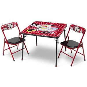 table pliante enfant achat vente jeux et jouets pas chers. Black Bedroom Furniture Sets. Home Design Ideas