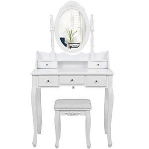 coiffeuse avec miroir pour enfant achat vente jeux et jouets pas chers. Black Bedroom Furniture Sets. Home Design Ideas