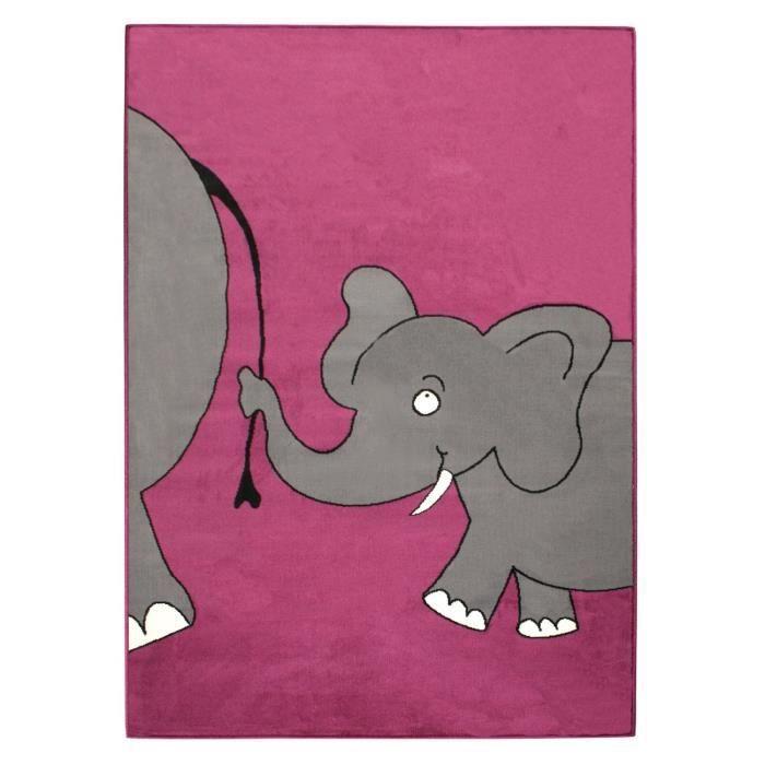 tapis pour enfant l phant violet 80 x 150 cm violet violet achat vente tapis veil aire. Black Bedroom Furniture Sets. Home Design Ideas