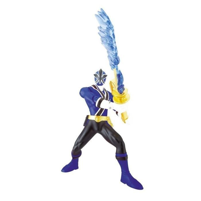 power rangers figurine 16cm katana bleu achat vente figurine personnage cdiscount. Black Bedroom Furniture Sets. Home Design Ideas