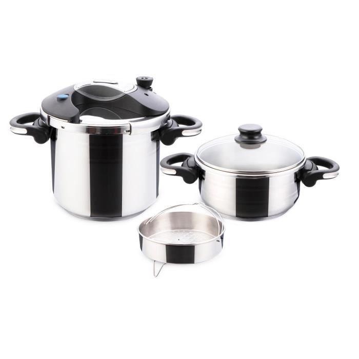 Art cuisine autocuiseurs ideal 4 et 7 litres tous feux - Cuisine cocotte minute ...