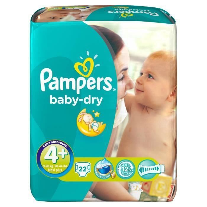 couche pampers baby dry taille 4 achat vente couche. Black Bedroom Furniture Sets. Home Design Ideas