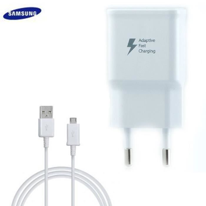 Chargeur Samsung Galaxy Tab 4 10 1 T530 Charge Rapide Afc