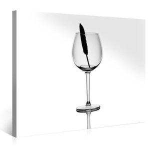 Tableau toile plume achat vente tableau toile plume - Tableau imprime sur verre ...