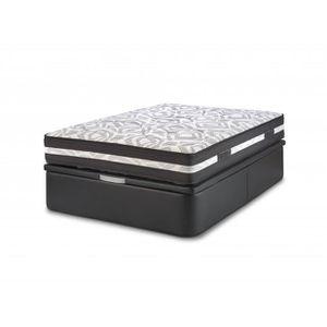 lit coffre 90x190 achat vente lit coffre 90x190 pas cher cdiscount. Black Bedroom Furniture Sets. Home Design Ideas