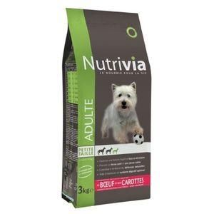 nourriture pour chien nutrivia achat vente nourriture pour chien nutrivia pas cher soldes. Black Bedroom Furniture Sets. Home Design Ideas