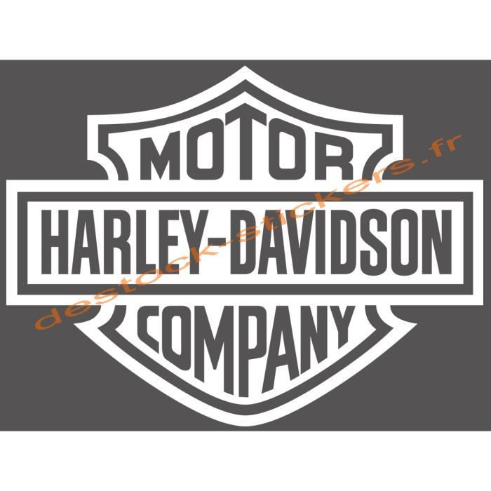stickers autocollant harley davidson ref 01 achat vente stickers cdiscount. Black Bedroom Furniture Sets. Home Design Ideas