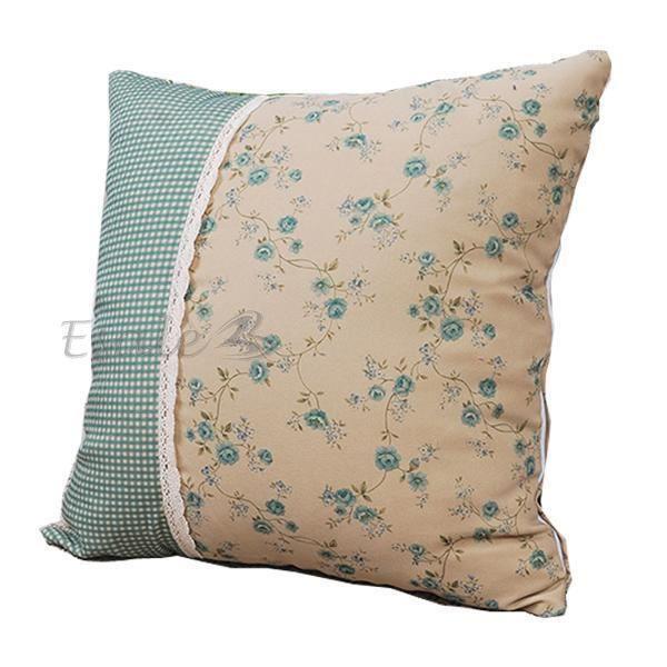 taie d 39 oreiller housse coussin linge fleurs kha achat vente taie d 39 oreiller cadeaux de. Black Bedroom Furniture Sets. Home Design Ideas