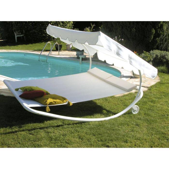 Bain de soleil dolce vita 2 places bascule en achat vente chaise longu - Bain de soleil 2 places ...