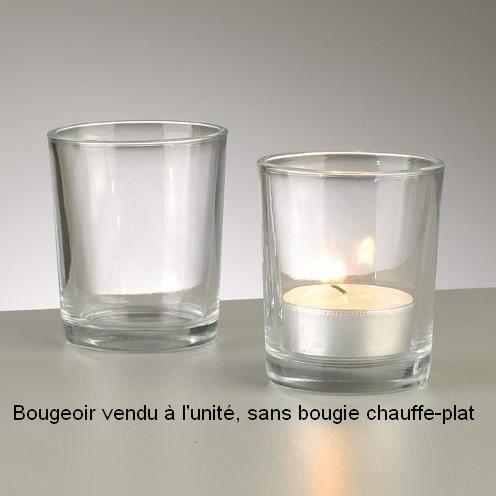 Photophore En Verre Pour Chauffe Plat 6 8 Cm Achat Vente Bougeoir Cdiscount