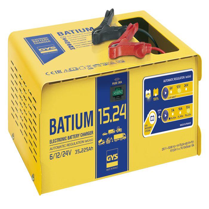 chargeur automatique batium gys 024526 achat vente chargeur de batterie gys 024526. Black Bedroom Furniture Sets. Home Design Ideas