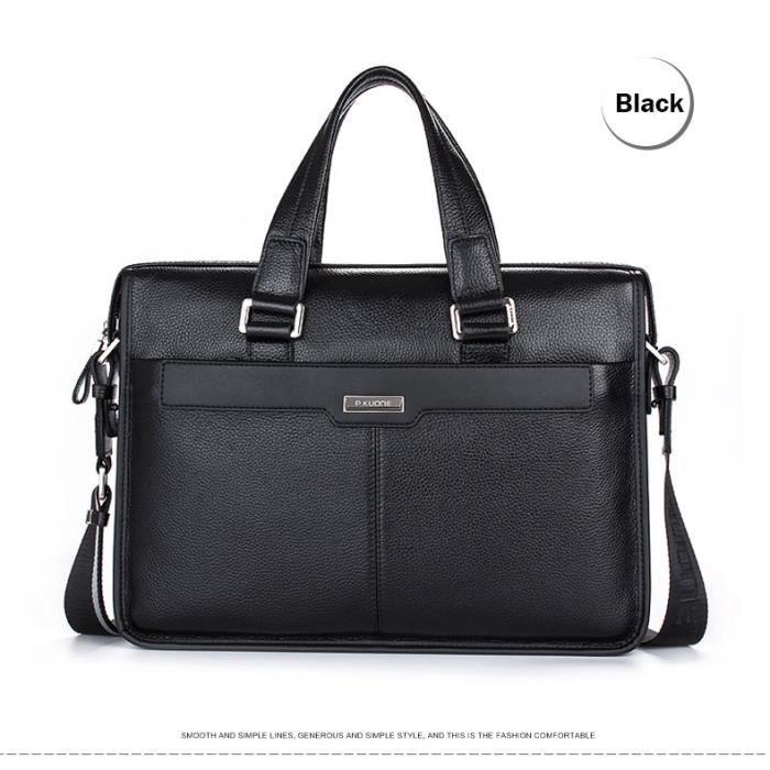 mallette de luxe maleta 2016 nouveau homme sac main authentique sac en cuir business messenger. Black Bedroom Furniture Sets. Home Design Ideas