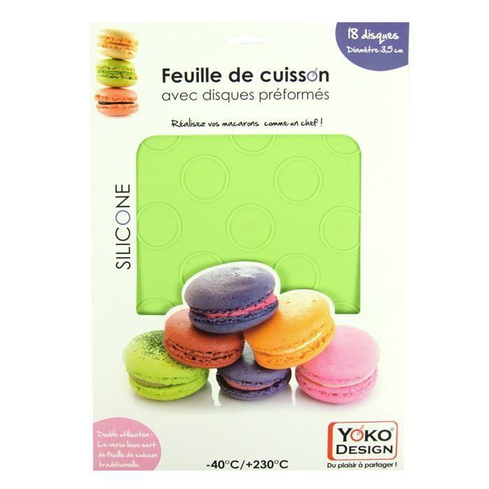plaque 18 macarons feuille de cuisson 2 en 1 achat. Black Bedroom Furniture Sets. Home Design Ideas