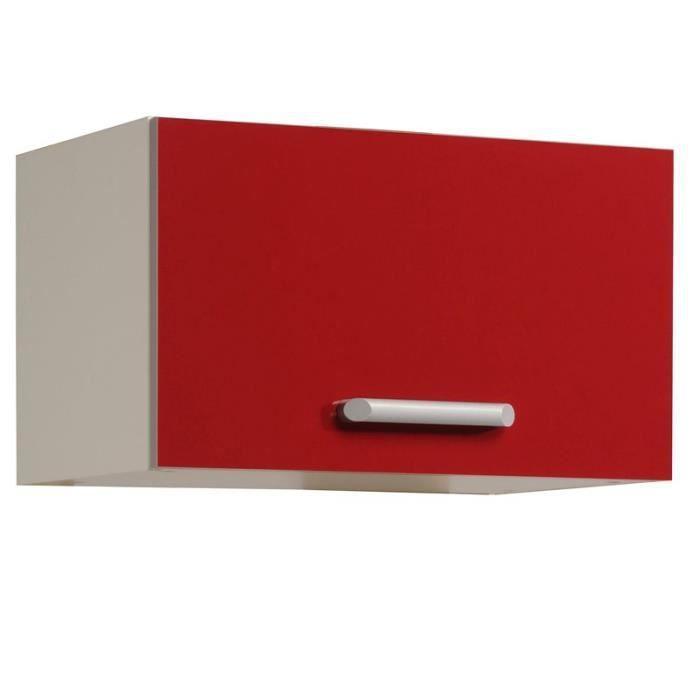 Paris prix surhotte 1 porte 60cm shiny rouge achat for Porte rf 60 prix