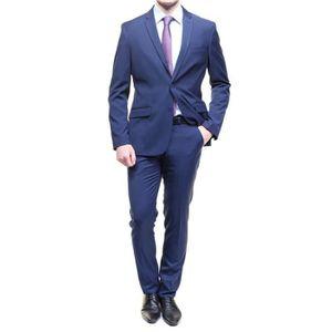COSTUME - TAILLEUR Costume Pascal Morabito Pm168 Andrew Bleu Roy