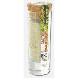 Sel cactus piment vert - Le verre shot de 50 g