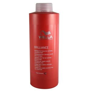wella professionals shampooing pour cheveux colors fins normaux brilliance 1000 ml - Shampoing Wella Cheveux Colors