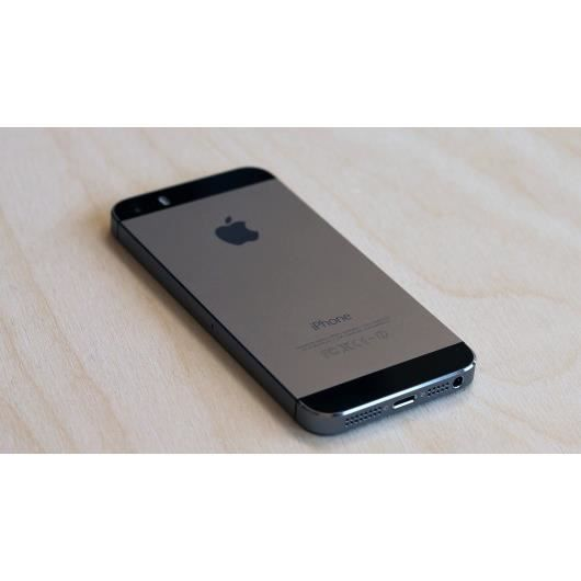 apple iphone 5s gris sideral 16go tout operateur achat. Black Bedroom Furniture Sets. Home Design Ideas
