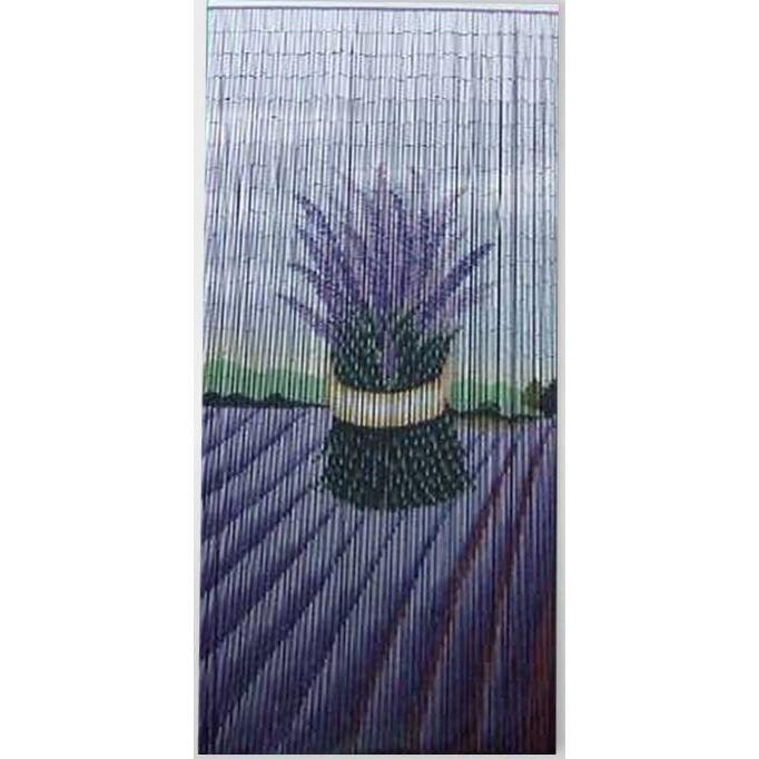 Rideau de porte moustiquaire bambou bouquet achat vente rideau de porte cdiscount - Rideau de porte decoratif ...