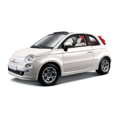 mod le r duit bmw fiat 500 cabriolet blanc achat vente voiture construire cdiscount. Black Bedroom Furniture Sets. Home Design Ideas