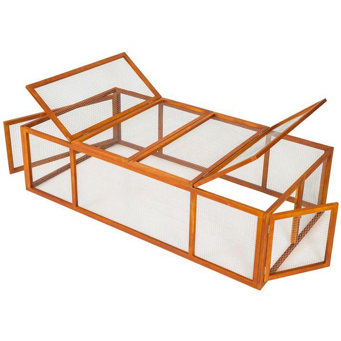 Cage clapier d ext rieur hamster lapin rongeurs parc for Cage a lapin exterieur