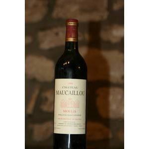 vin rouge chateau maucaillou 1994 - Chateau Maucaillou Mariage