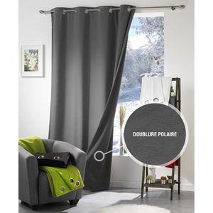 doublure thermique rideaux achat vente doublure thermique rideaux pas cher cdiscount. Black Bedroom Furniture Sets. Home Design Ideas