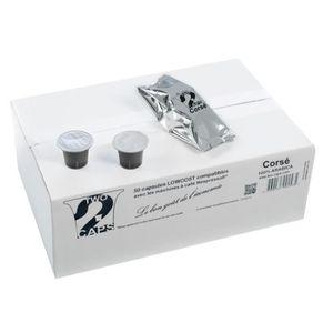 CAFÉ - CHICORÉE Two Caps - Corsé - 100 Capsules Compatibles Nespre