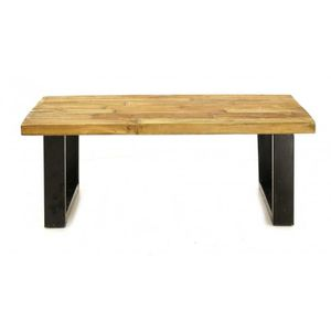 Table basse bois recycl achat vente table basse bois recycl pas cher - Table basse bois et metal pas cher ...