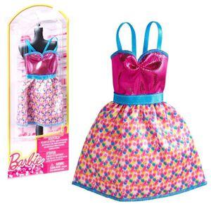 poupee barbie robe rose achat vente jeux et jouets pas. Black Bedroom Furniture Sets. Home Design Ideas