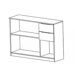 BUFFET - BAHUT  Buffet STUART - 3 portes & 2 tiroirs - Chêne