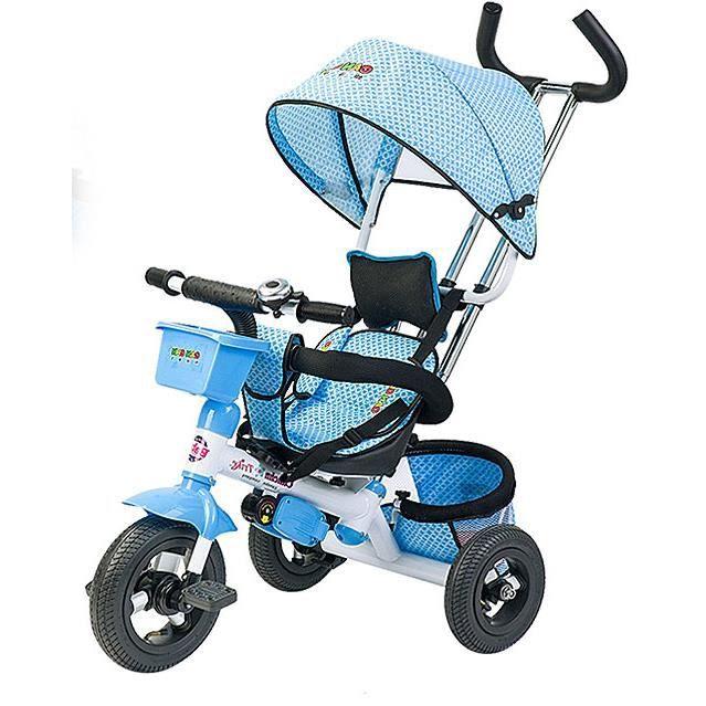 fascol tricycle pouseette pour b b v lo et v hicule pour enfant avec trois roues chargeur max. Black Bedroom Furniture Sets. Home Design Ideas